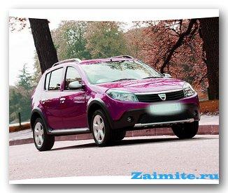Renault Sandero - ����������� ���� � ������������
